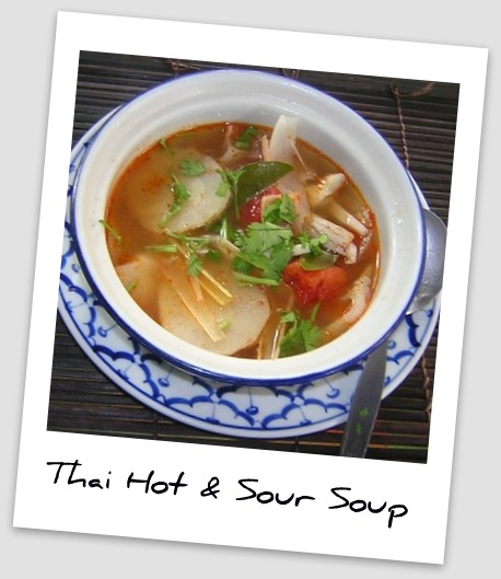 thai hot and sour soup - Professional Content Creation