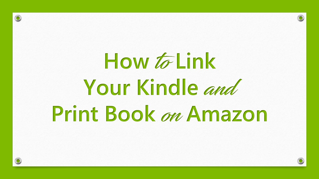 how to get a book on amazon kindle