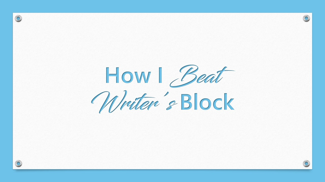 the beat writers Here are ten ways to overcome writer's block which ones have you tried.